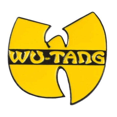 NEW! Free Wu-Tang Clan Logo Enamel Pin Just Pay Shipping