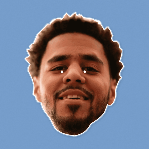 Happy J Cole Mask by RapMasks