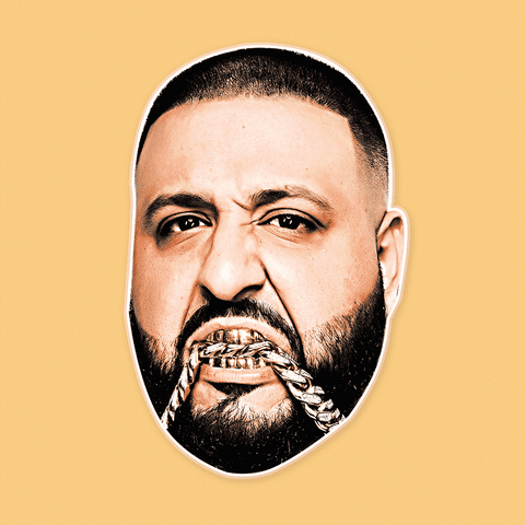 Gangsta DJ Khaled Mask - Perfect for Halloween, Costume Party Mask, Masquerades, Parties, Festivals, Concerts - Jumbo Size Waterproof Laminated Mask