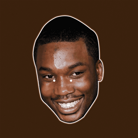 Happy Meek Mill Mask - Perfect for Halloween, Costume Party Mask, Masquerades, Parties, Festivals, Concerts - Jumbo Size Waterproof Laminated Mask