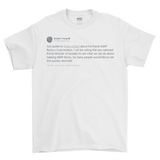 ASAP Rocky x Kanye West x Trump x Swedish PM Mount Rushmore Tweet 2 Sided T-Shirt