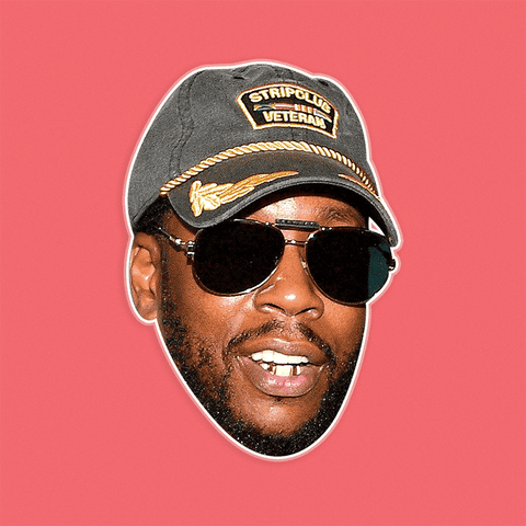 Cool 2 Chainz Mask - Perfect for Halloween, Costume Party Mask, Masquerades, Parties, Festivals, Concerts - Jumbo Size Waterproof Laminated Mask