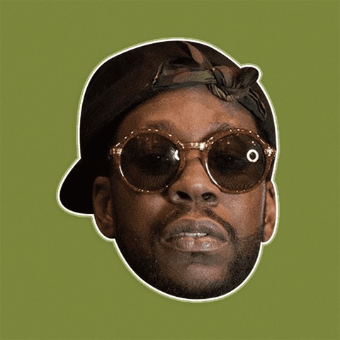 Neutral 2 Chainz Mask - Perfect for Halloween, Costume Party Mask, Masquerades, Parties, Festivals, Concerts - Jumbo Size Waterproof Laminated Mask
