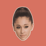 Sexy Ariana Grande Mask - Perfect for Halloween, Costume Party Mask, Masquerades, Parties, Festivals, Concerts - Jumbo Size Waterproof Laminated Mask