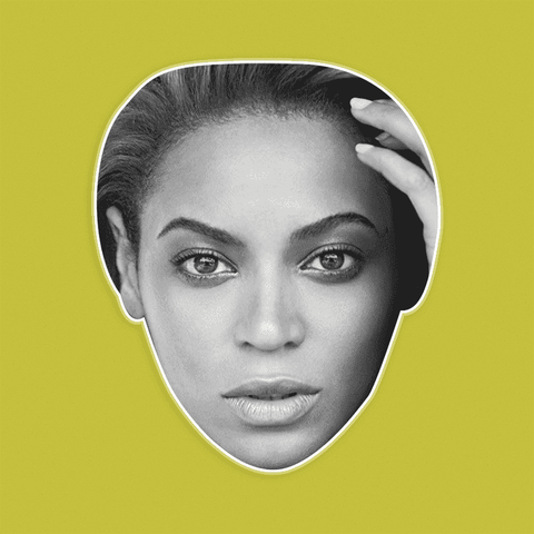 Bored Beyonce Mask by RapMasks
