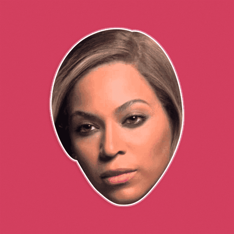 Serious Beyonce Mask by RapMasks