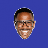 Nerdy Big Sean Mask - Perfect for Halloween, Costume Party Mask, Masquerades, Parties, Festivals, Concerts - Jumbo Size Waterproof Laminated Mask