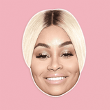 Cool Blac Chyna Mask - Perfect for Halloween, Costume Party Mask, Masquerades, Parties, Festivals, Concerts - Jumbo Size Waterproof Laminated Mask