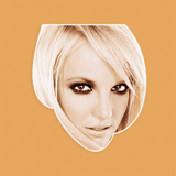 Sexy Britney Spears Mask - Perfect for Halloween, Costume Party Mask, Masquerades, Parties, Festivals, Concerts - Jumbo Size Waterproof Laminated Mask