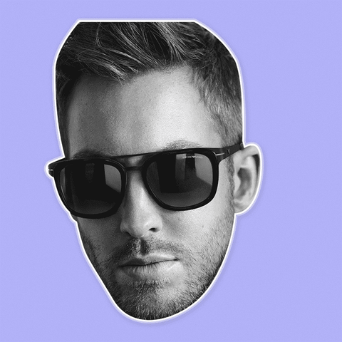 Serious Calvin Harris Mask - Perfect for Halloween, Costume Party Mask, Masquerades, Parties, Festivals, Concerts - Jumbo Size Waterproof Laminated Mask