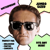 Bored Casey Neistat Mask - Perfect for Halloween, Costume Party Mask, Masquerades, Parties, Festivals, Concerts - Jumbo Size Waterproof Laminated Mask