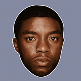 Disgusted Chadwick Boseman Mask - Perfect for Halloween, Costume Party Mask, Masquerades, Parties, Festivals, Concerts - Jumbo Size Waterproof Laminated Mask