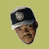 Serious Chance The Rapper Mask - Perfect for Halloween, Costume Party Mask, Masquerades, Parties, Festivals, Concerts - Jumbo Size Waterproof Laminated Mask