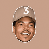 Silly Chance The Rapper Mask - Perfect for Halloween, Costume Party Mask, Masquerades, Parties, Festivals, Concerts - Jumbo Size Waterproof Laminated Mask