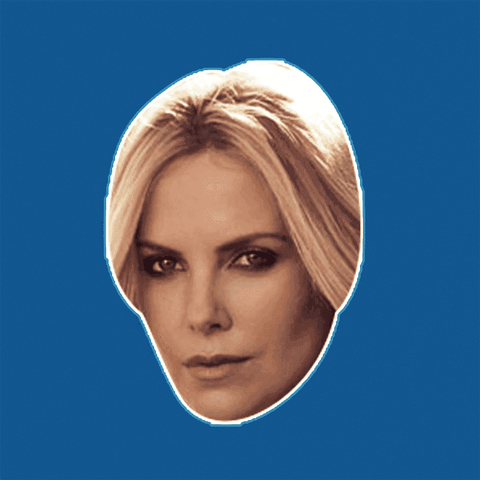 Angry Charlize Theron Mask by RapMasks