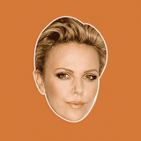 Cool Charlize Theron Mask - Perfect for Halloween, Costume Party Mask, Masquerades, Parties, Festivals, Concerts - Jumbo Size Waterproof Laminated Mask