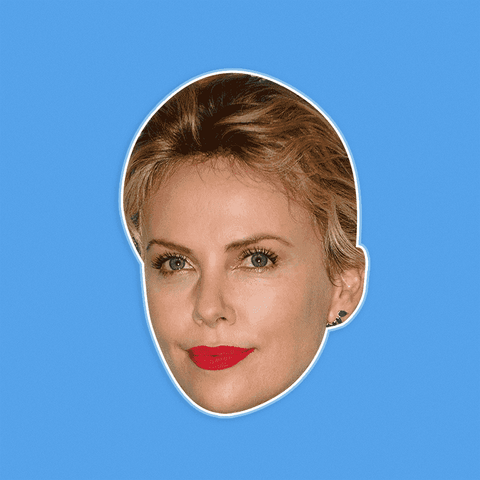 Neutral Charlize Theron by RapMasks