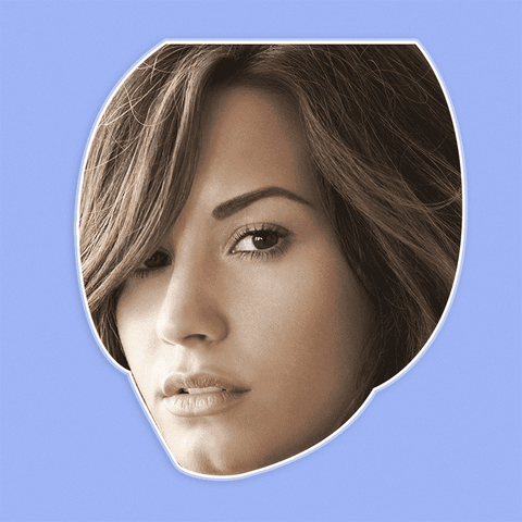 Sad Demi Lovato Mask - Perfect for Halloween, Costume Party Mask, Masquerades, Parties, Festivals, Concerts - Jumbo Size Waterproof Laminated Mask