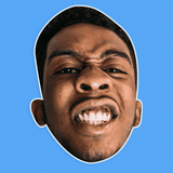 Disgusted Desiigner Rapper Mask - Perfect for Halloween, Costume Party Mask, Masquerades, Parties, Festivals, Concerts - Jumbo Size Waterproof Laminated Mask