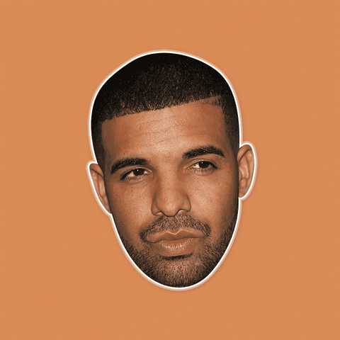 Bored Drake Mask by RapMasks