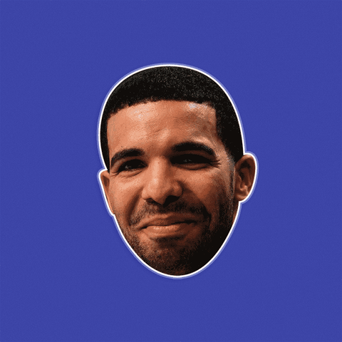 Silly Drake Mask by RapMasks