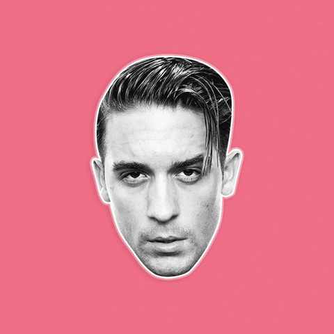 Serious G Eazy Mask - Perfect for Halloween, Costume Party Mask, Masquerades, Parties, Festivals, Concerts - Jumbo Size Waterproof Laminated Mask