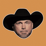 Sad Garth Brooks Mask - Perfect for Halloween, Costume Party Mask, Masquerades, Parties, Festivals, Concerts - Jumbo Size Waterproof Laminated Mask