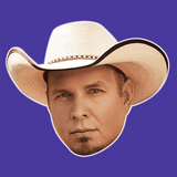 Serious Garth Brooks Mask - Perfect for Halloween, Costume Party Mask, Masquerades, Parties, Festivals, Concerts - Jumbo Size Waterproof Laminated Mask