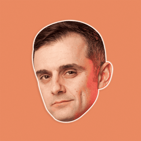 Sexy Gary Vaynerchuk Mask - Perfect for Halloween, Costume Party Mask, Masquerades, Parties, Festivals, Concerts - Jumbo Size Waterproof Laminated Mask