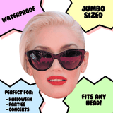 Cool Gwen Stefani Mask - Perfect for Halloween, Costume Party Mask, Masquerades, Parties, Festivals, Concerts - Jumbo Size Waterproof Laminated Mask