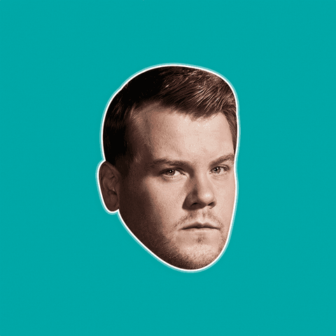 Angry James Corden Mask by RapMasks
