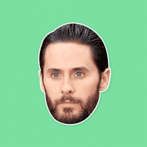 Neutral Jared Leto Mask by RapMasks