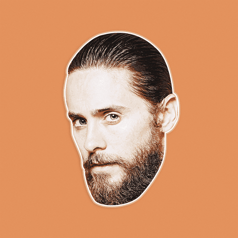 Serious Jared Leto Mask by RapMasks