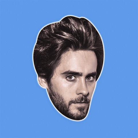 Sexy Jared Leto Mask - Perfect for Halloween, Costume Party Mask, Masquerades, Parties, Festivals, Concerts - Jumbo Size Waterproof Laminated Mask