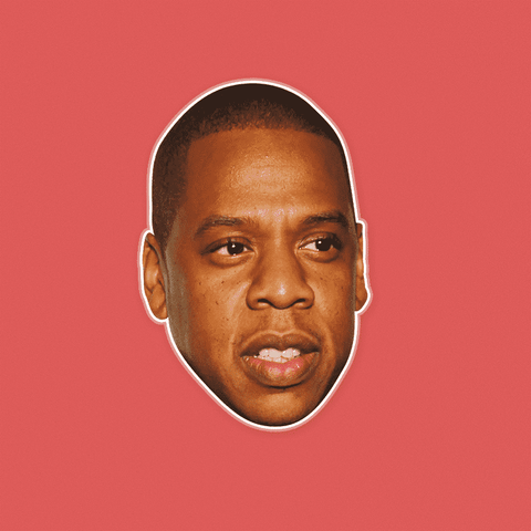 Confused Jay-Z Mask by RapMasks
