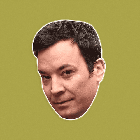 Bored Jimmy Fallon Mask by RapMasks