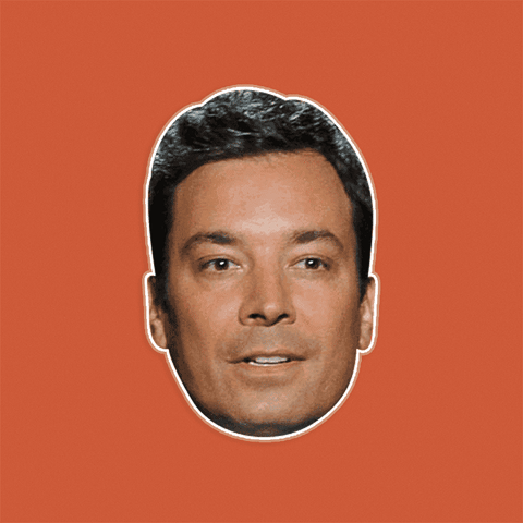 Sad Jimmy Fallon Mask - Perfect for Halloween, Costume Party Mask, Masquerades, Parties, Festivals, Concerts - Jumbo Size Waterproof Laminated Mask