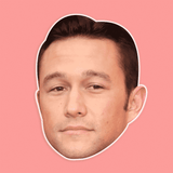 Disgusted Joseph Gordon Levitt Mask - Perfect for Halloween, Costume Party Mask, Masquerades, Parties, Festivals, Concerts - Jumbo Size Waterproof Laminated Mask