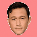 Sad Joseph Gordon Levitt Mask - Perfect for Halloween, Costume Party Mask, Masquerades, Parties, Festivals, Concerts - Jumbo Size Waterproof Laminated Mask
