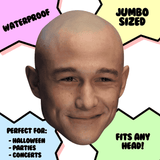 Cool Joseph Gordon Levitt Mask - Perfect for Halloween, Costume Party Mask, Masquerades, Parties, Festivals, Concerts - Jumbo Size Waterproof Laminated Mask