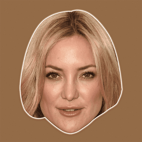 Cool Kate Hudson Mask - Perfect for Halloween, Costume Party Mask, Masquerades, Parties, Festivals, Concerts - Jumbo Size Waterproof Laminated Mask