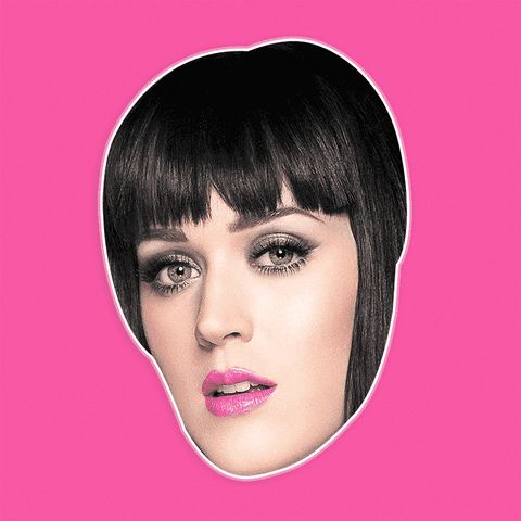 Bored Katy Perry Mask by RapMasks