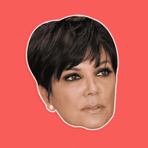 Bored Kris Jenner Mask by RapMasks