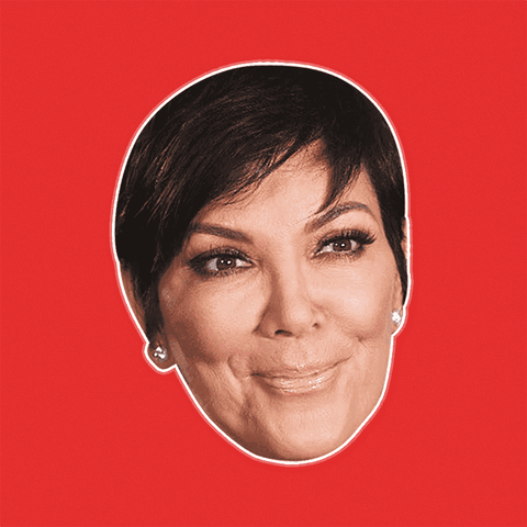 Confused Kris Jenner Mask by RapMasks