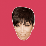 Sexy Kris Jenner Mask - Perfect for Halloween, Costume Party Mask, Masquerades, Parties, Festivals, Concerts - Jumbo Size Waterproof Laminated Mask