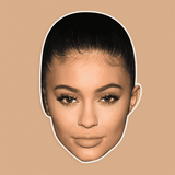 Disgusted Kylie Jenner Mask - Perfect for Halloween, Costume Party Mask, Masquerades, Parties, Festivals, Concerts - Jumbo Size Waterproof Laminated Mask