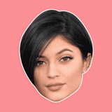 Sexy Kylie Jenner Mask - Perfect for Halloween, Costume Party Mask, Masquerades, Parties, Festivals, Concerts - Jumbo Size Waterproof Laminated Mask