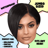 Sad Kylie Jenner Mask - Perfect for Halloween, Costume Party Mask, Masquerades, Parties, Festivals, Concerts - Jumbo Size Waterproof Laminated Mask