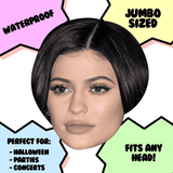 Serious Kylie Jenner Mask - Perfect for Halloween, Costume Party Mask, Masquerades, Parties, Festivals, Concerts - Jumbo Size Waterproof Laminated Mask