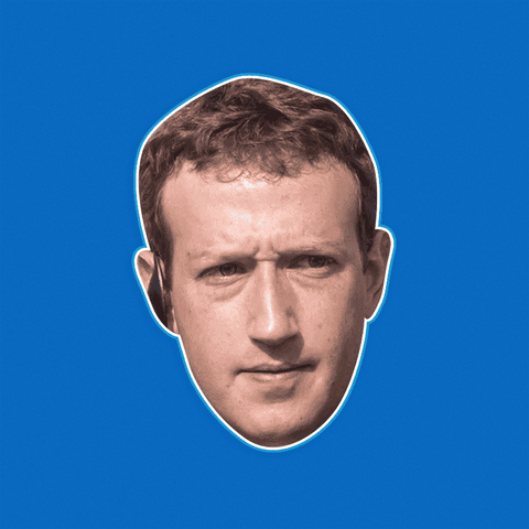 Angry Mark Zuckerberg Mask by RapMasks